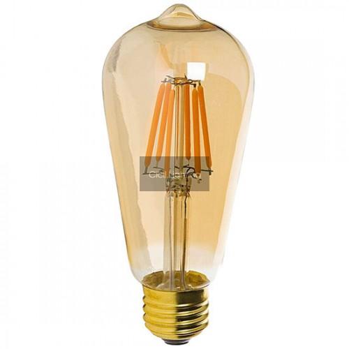 LED ST64 Filament Lamp