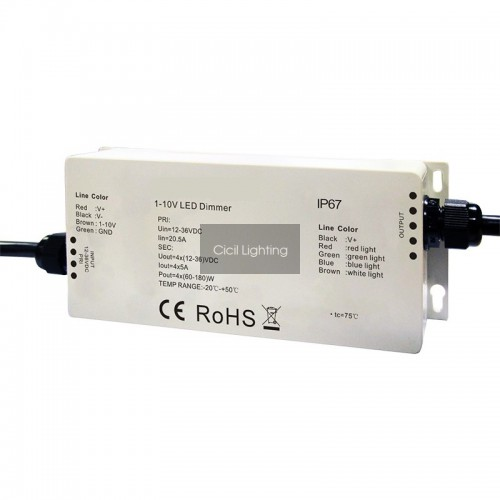 0/1-10v waterproef IP67 dimmer